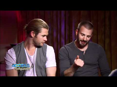Chris Hemsworth and Chris Evans funny interview
