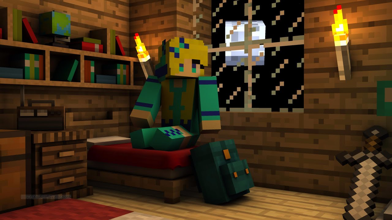 3d Wallpaper Feature Wall How To Create A Animation Picture For Minecraft Using