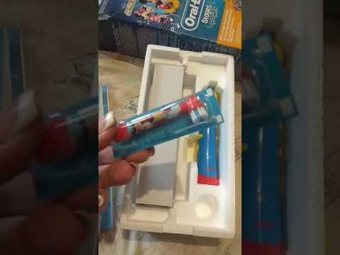Электрическая зубная щетка ORAL-B BRAUN Kids Power Toothbrush/D10 Mickey Mouse (4210201049616)