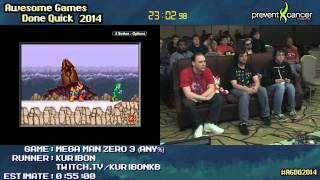 Mega Man Zero 3 :: SPEED RUN (0:43:39) [GB Player] Live by Kuribon #AGDQ 2014
