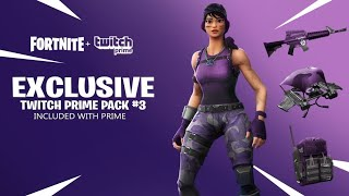 "[EXCLUDEd] HOW TO ""PACK TWITCH #3"" FREE on fortnite!"