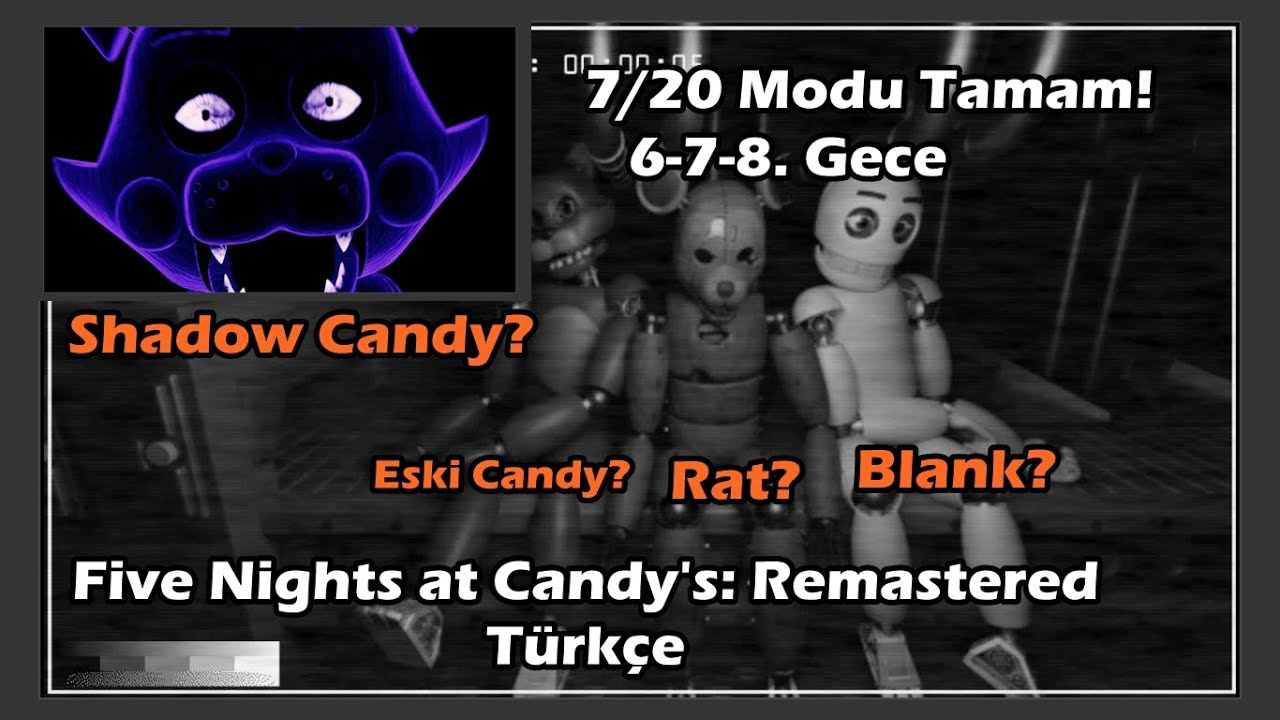 BU DA KİMMİŞ? I Five Nights at Candy's 3 Türkçe I Bölüm 1