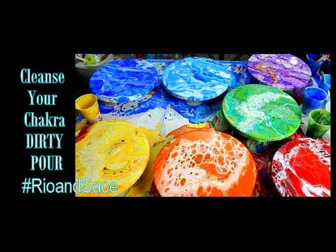 Cleanse Your STUPID!! Rainbow Chakra  DIRTY Pour (51)