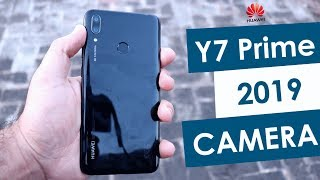 Huawei Y7 Prime 2019 Camera Review! KAMAL HO GYA