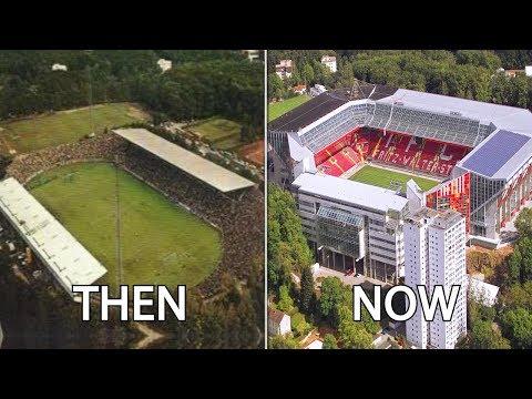 2. Bundesliga Stadiums Then & Now