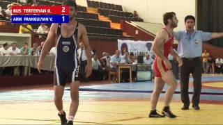 Freestyle wrestling Terteryan G VS Frangulyan V