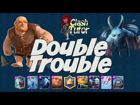 Clash Royale: Double Giant, Double Minion Deck