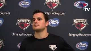 Stingrays Training Camp - 10/14/14 - Wayne Simpson
