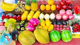ละครสั้น เจ้เปิดร้านขาย ผัก ผลไม้ สดๆ ของเล่นผักผลไม้เสมือนจริง ของเล่นทำอาหาร