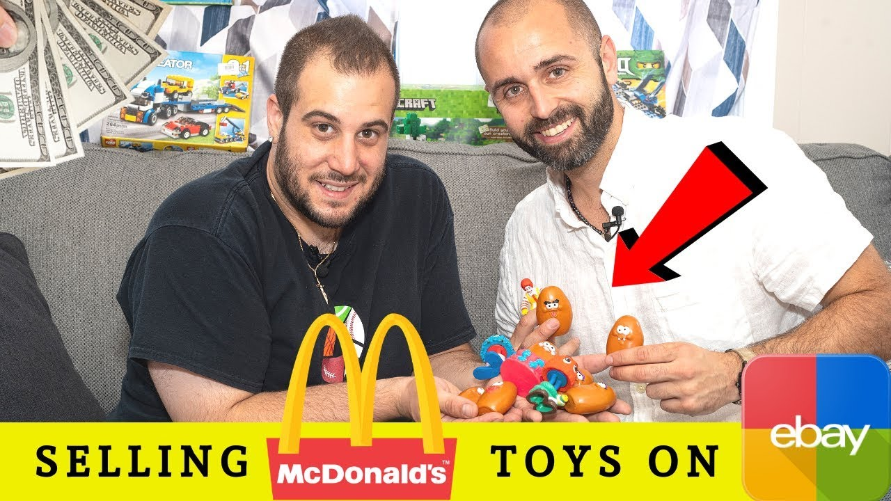 How To Make Money Selling Mcdonalds Toys On Ebay Youtube