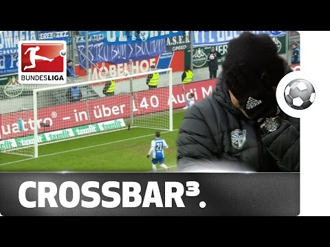 Unlucky Football Team Hits The Crossbar 3 times in 3 seconds