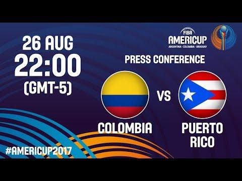 Colombia v Puerto Rico - Press Conference - FIBA AmeriCup 2017