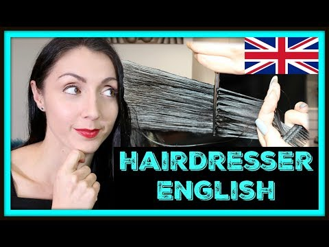 ENGLISH VOCABULARY LESSON: Hair, Hairdresser and Haircut | LIVE English Lesson