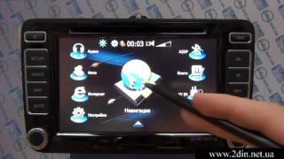 Штатная магнитола Phantom DVM-1821G i5 в Volkswagen Polo Sedan - GPS навигация(Купить магнитолу на сайте: http://2din.net.ua/volkswagen-polo-sedan-1-2.html Обзор функциональных возможностей штатной магнитол..., 2015-02-16T14:54:54.000Z)