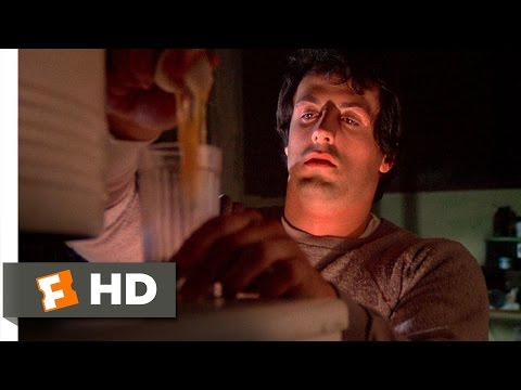 Rocky (4/10) Movie CLIP - Breakfast of Champions (1976) HD