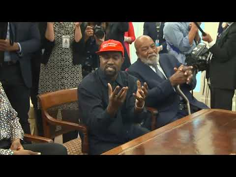 Kanye West Full White House Speech with President Trump