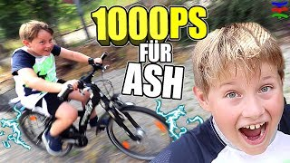 PIMP YOUR BIKE 💥 1000 PS Gadget  vs DIY  😁 TipTapTube Family 👨‍👩‍👦‍👦
