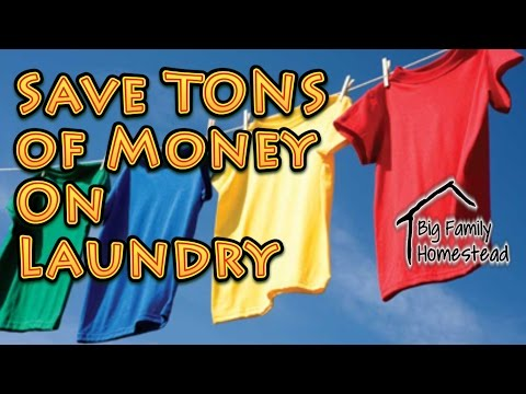 Save TONS of money On Laundry
