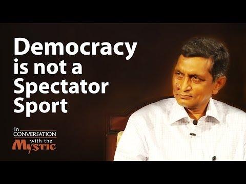Democracy is not a Spectator Sport | Dr. Jayaprakash Narayan with Sadhguru