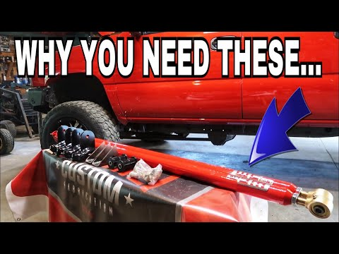 WCFAB Traction Bars for a Duramax Cummins Powerstroke