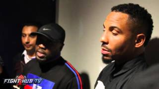 Andre Berto & Andre Ward talk KO of Victor Ortiz and Sergey Kovalev