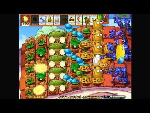 Plants versus Zombies - Cob Cannon si Winter Melon