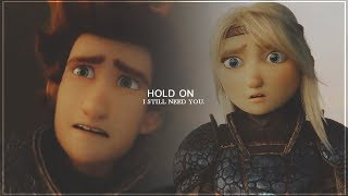 Hiccup and Astrid ~ Hold On