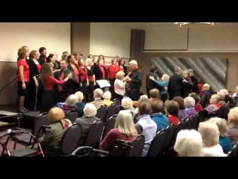 Holiday Outreach Performance at University House Senior Center