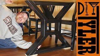 HomeMade Farmhouse Table Legs | Metalworking