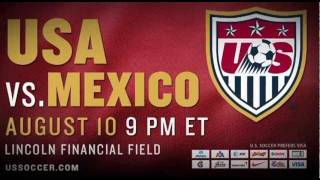 U.S. MNT vs Mexico Trailer: Tickets on Sale