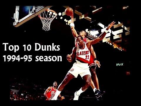 Scottie Pippen: Top 10 dunks 1994-95 season