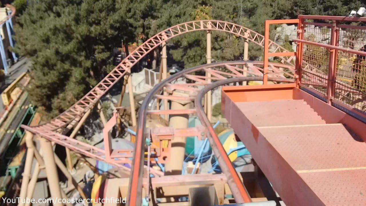 Sierra Sidewinder Front Seat (HD POV) Knott's Berry Farm ...