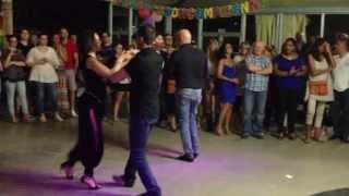 Esibizione salsa portoricana scuola Picabù 04 07 2013