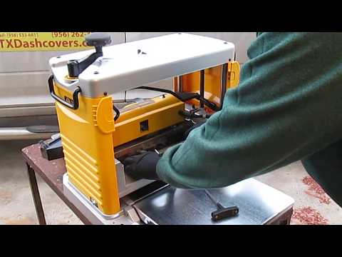 Dewalt DW734  Planer Changing you Cutting Knives/Blades