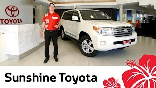 2014 Toyota LC200 Sahara - Video review by Sunshine Toyota