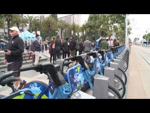 GoBike来啦!福特共享单车落地旧金山(公共单车运营商_旧金山湾区)