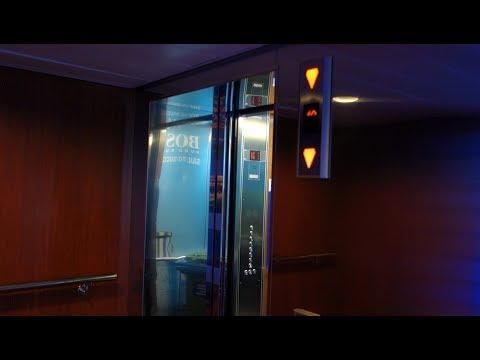 2008 KONE Marine MiniSpace Elevator @ Tallink Cruiseferry M/S Baltic Queen.
