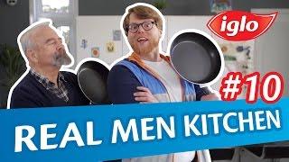 Win met Vaderdag een vistrip voor jou en je vader - Iglo Real Men Kitchen #10