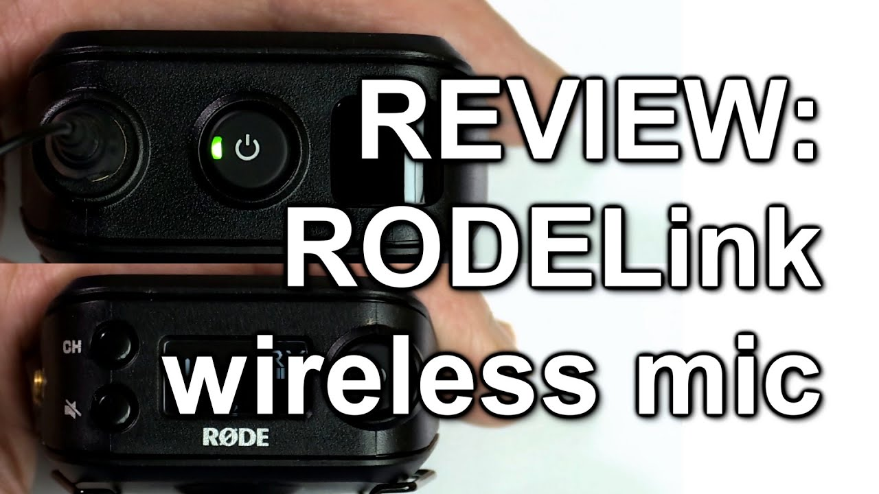 review rodelink wireless microphone kit youtube. Black Bedroom Furniture Sets. Home Design Ideas