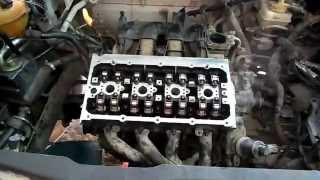 remplacement culasse+chaine moteur golf 4-1.4 essence