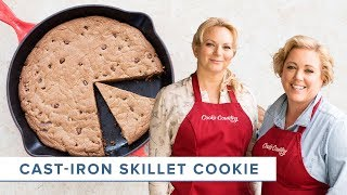 How to Make Dessert for a Crowd with our Chocolate Chip Skillet Cookie Recipe
