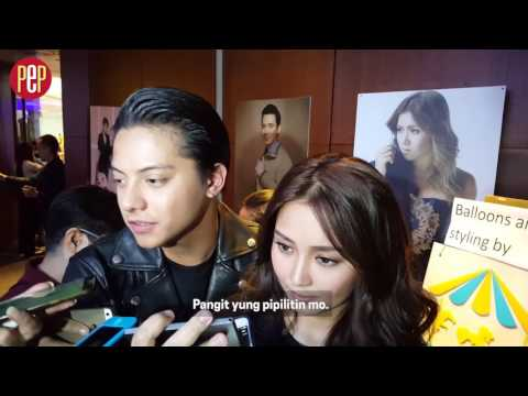 Did Daniel Padilla just pick Kathryn Bernardo's nose in this interview?