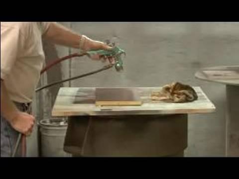 Refinishing Wood Furniture : Sealing Wood Furniture