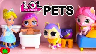 Disney Princess LOL Surprise Pets For L.O.L. Dolls Palace Pets