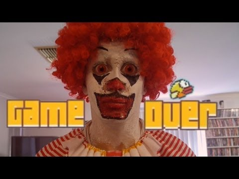 Ronald McDonald HATES FLAPPY BIRD!!!