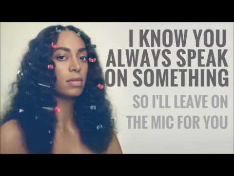 Solange - Don't Wish Me Well (Lyrics)