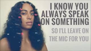 Solange - Don't Wish Me Well ( Unofficial Lyric Vídeo)