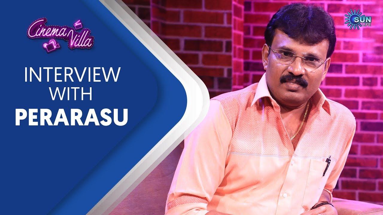 Exclusive Interview with Director Perarasu | Cinema Villa | Sun Life