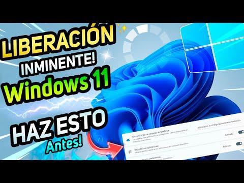 ⚡Windows 11 OFICIAL PRONTA LIBERACIÓN / REALIZA ESTO! Antes de ACTUALIZAR Windows