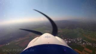 Flug mit dem Ultraleicht Flugzeug - Un vol en planeur ou avion ultra léger ULM